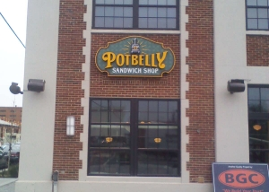 Potbelly Install