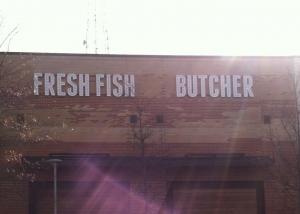 Fresh Fish Butcher Install 1