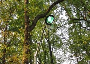 Holy Cross Pole Light